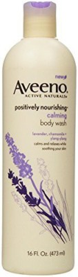 Aveeno Positively Nourishing Calming Body Wash(473 ml)