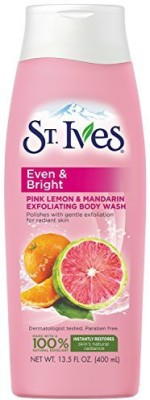 St. Ives Even and Bright Body Wash, Pink Lemon and Mandarin Orange(400 ml) at flipkart