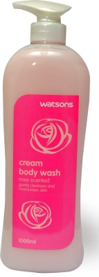 Watsons Rose Scented Cream Body Wash