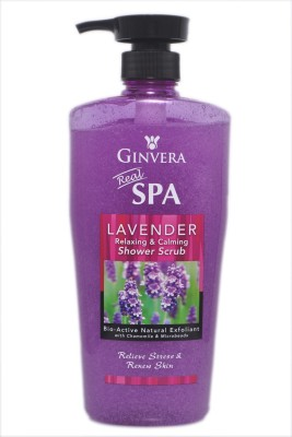Ginvera Lavender Relaxing & Calming Shower Scrub