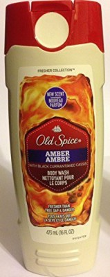 Old Spice Fresher Collection Amber Fresher Than Tree Sap & Danger Net Wt 473 Each Pack of 2