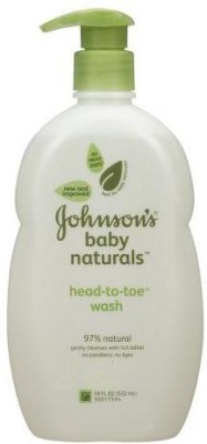 Johnsons Baby Naturals Head-To-Toe Wash - (Us)