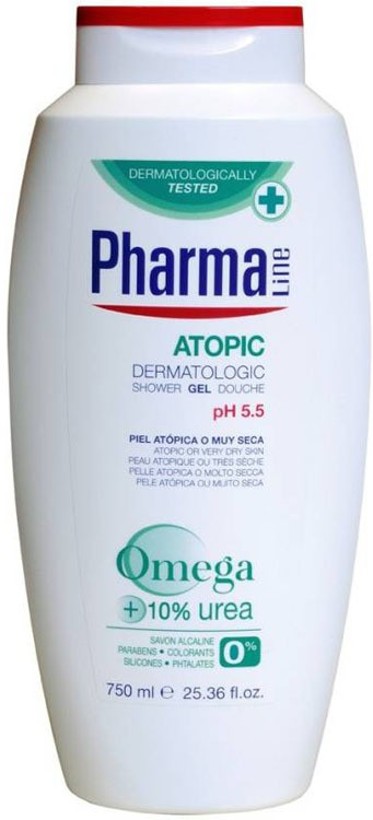 Pharma Line Atopic(Alergic Skin) Shower gel(750 ml)