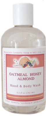 Mountain Country Soap Oatmeal Honey Almond Aromatherapy