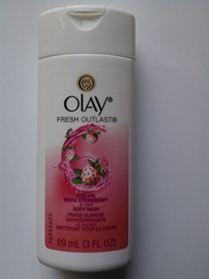 Olay Fresh Outlast Cooling White Strawberry & Mint 89 ; Travel Size
