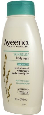Aveeno Skin Relief Body Wah Fragrance Free Imported