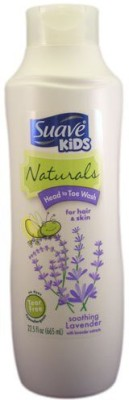 Suave Naturals Kids Head to Toe Soothing Lavender