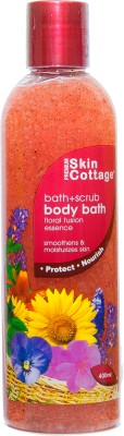 Skin Cottage Floral Fusion Shower Scrub (Made In Malaysia)