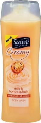 Suave Naturals Creamy milk and honey Splash Body Wash
