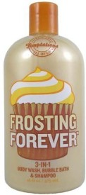 Bath & Body Works Temptations Frosting Forever 3 in 1 Wash, Bubble , Shampoo(473.12 ml)