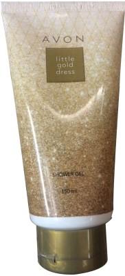 Avon Little Gold Dress Shower Gel