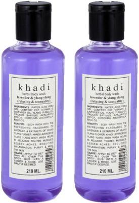 khadi Natural Lavender & Ylang Ylang Herbal Body Wash