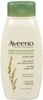 Aveeno Active Naturals Daily Moisturizing Body Wash With Natural Oatmeal(532 ml)