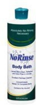No Rinse Body Bath Pack of 3
