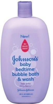 Johnson & Johnson Bedtime Bubble Bath