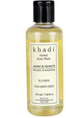 Khadi Natural Sandal & Turmeric Body Wash- Sls & Paraben Free