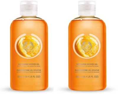 The Body Shop Satsuma Shower Gel Pack Of 2