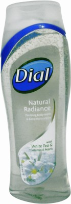 Dial Natural Radiance Body Wash with White Tea and Vitamin E Pearls