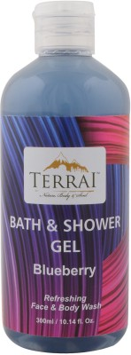 Terrai Blue Berry Shower Gel