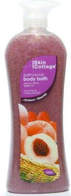 Skin Cottage Peach Berry Shower Scrub (Imported) Made In Malaysia