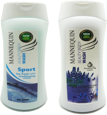 Mannequin Sports Icy,Lavender Body Wash