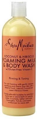 Shea Moisture SheaMoisture Coconut & Hibiscus Foaming Milk & s