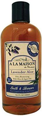 A La Maison La Maison Bath & Shower Liquid Soap - Lavender Aloe 16.9 fl oz (500 ml) Liquid(34.16 g)