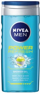Bath & Body Nivea Power Refresh Shower Gel 250 Ml For Men Superior Performance