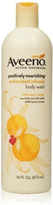 Aveeno Positively Nourishing Anti-oxidant Infused Body Wash White Peach + Ginger(473 ml)