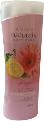 Avon Pink Daisy & Sicilian Lemon Shower Gel