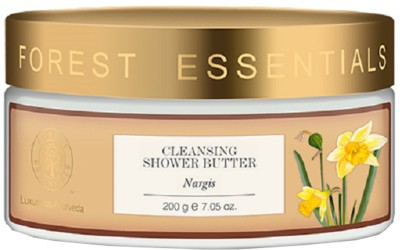 Forest Essentials Cleansing Shower Butter Nargis(200 g)