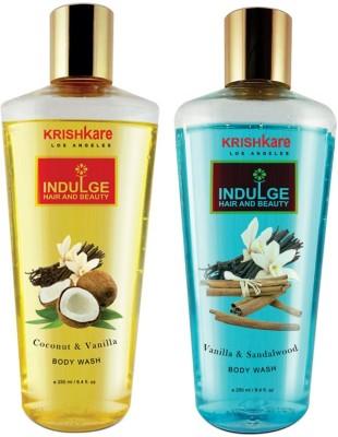 Krishkare Coconut Vanilla And Vanilla Sandalwood Body Wash