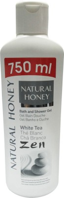 Natural Honey Bath Gel White Tea