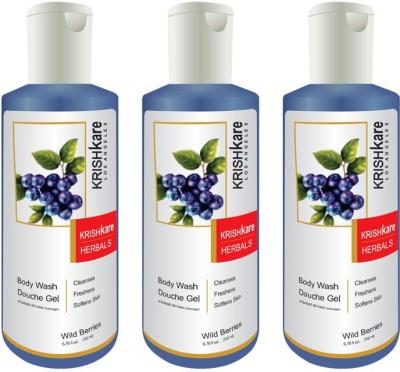 Krishkare Wild Berries Body Wash Douche Gel