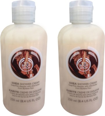 The Body Shop Shea Shower Cream Pack Of 2