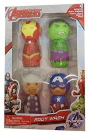 Marvel Avengers 4 Flavors Scented Body Wash Gift Set(50 ml)