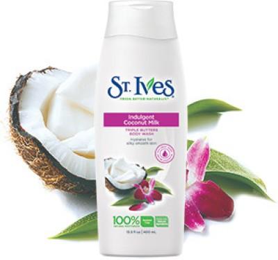St. Ives Coconut Milk Triple Butter Body Wash