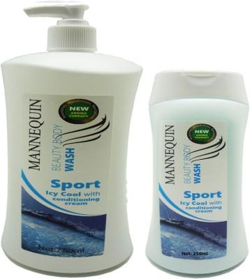 Mannequin 2 Sport Icy Body Wash