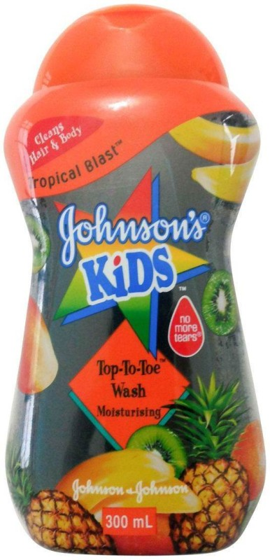 Johnson's Baby Kids Top-To-Toe Wash (Tropical Blast) (Imported)(300 ml)