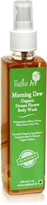 Rustic Art Morning Dew Organic Dream Flower Body Wash 200ml