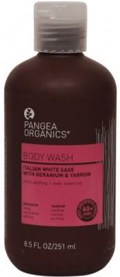 Pangea Organics Italian White Sage with Geranium & Yarrow Body Wash