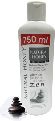 Natural Honey White Tea Bath and Shower Gel