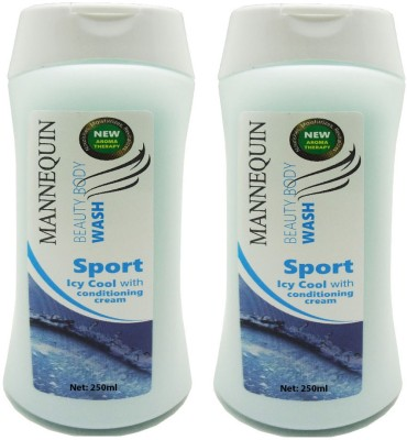 Mannequin Sport ICY Cool-Body Wash