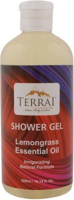 Terrai Lemongrass Oil Bath & Shower Gel