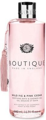 Grace Cole Boutique Range - Soothing Bath & Shower gel - Wild Fig & Pink Cedar
