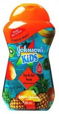 Johnson & Johnson Kid Tropical Blast Top-To-Toe Moisturising(300 ml)