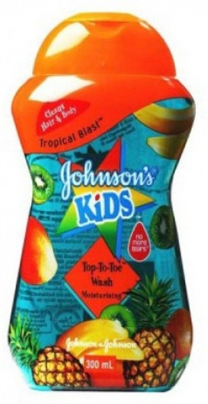 Johnson & Johnson Kid Tropical Blast Top-To-Toe Wash Moisturising(300 ml)