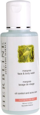 Herbline Margosa Face & Body Wash