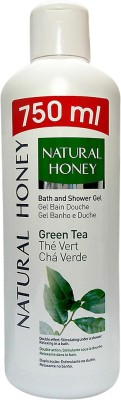 Natural Honey Green Tea Bath Gel