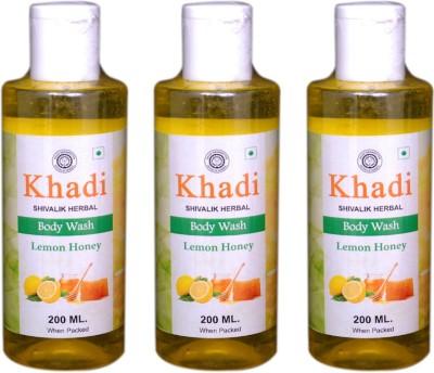 Khadi Natural Lemon Honey Body Wash